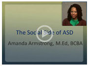 Video: The Social Side of ASD
