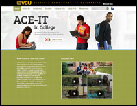 ACE-IT in College website screenshot