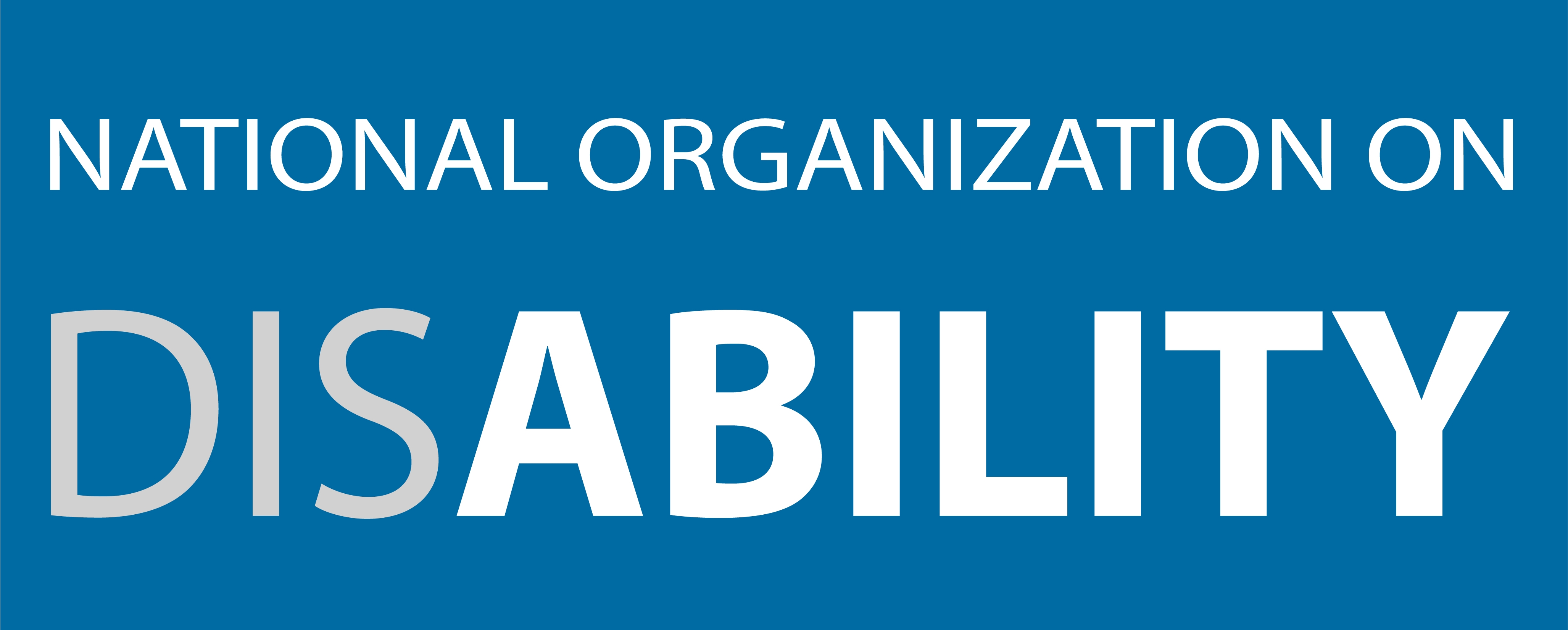 National Organization on Disability logo