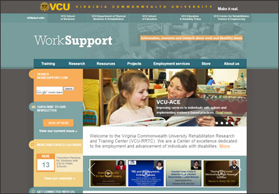 Worksupport Website